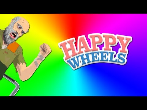 HAPPY WHEELS EN DIRECTO ESPECIAL 150.000 SUSCRIPTORES  [Parte 1/3]
