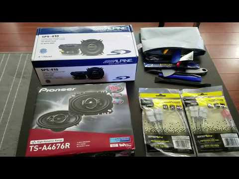 Install and Review of Chevy Spark EV Aftermarket Speakers