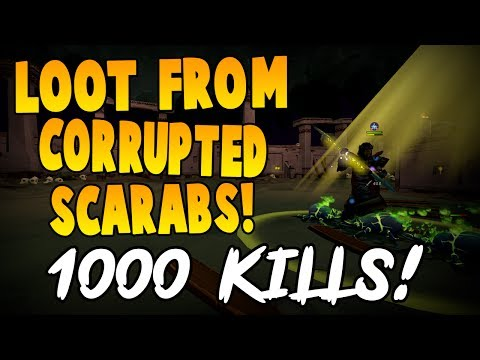 Runescape 2017   Loot from 1000 Corrupted Scarabs!   Menaphos
