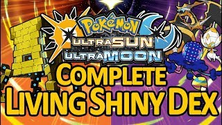 COMPLETE LIVING SHINY DEX: 802 SHINY POKEMON in Ultra Sun and Ultra Moon (Gen 1-7)