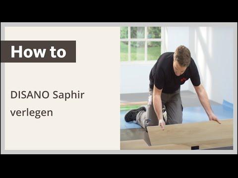04:03 Designboden DISANO By HARO Saphir Selbst Verlegen U2013 Verlegeanleitung: Schwimmende  Verlegung