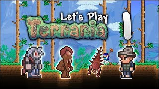 Let's Play Terraria 1.3.5 | Playing For FUN! Lucky Beginnings! [Episode 1]