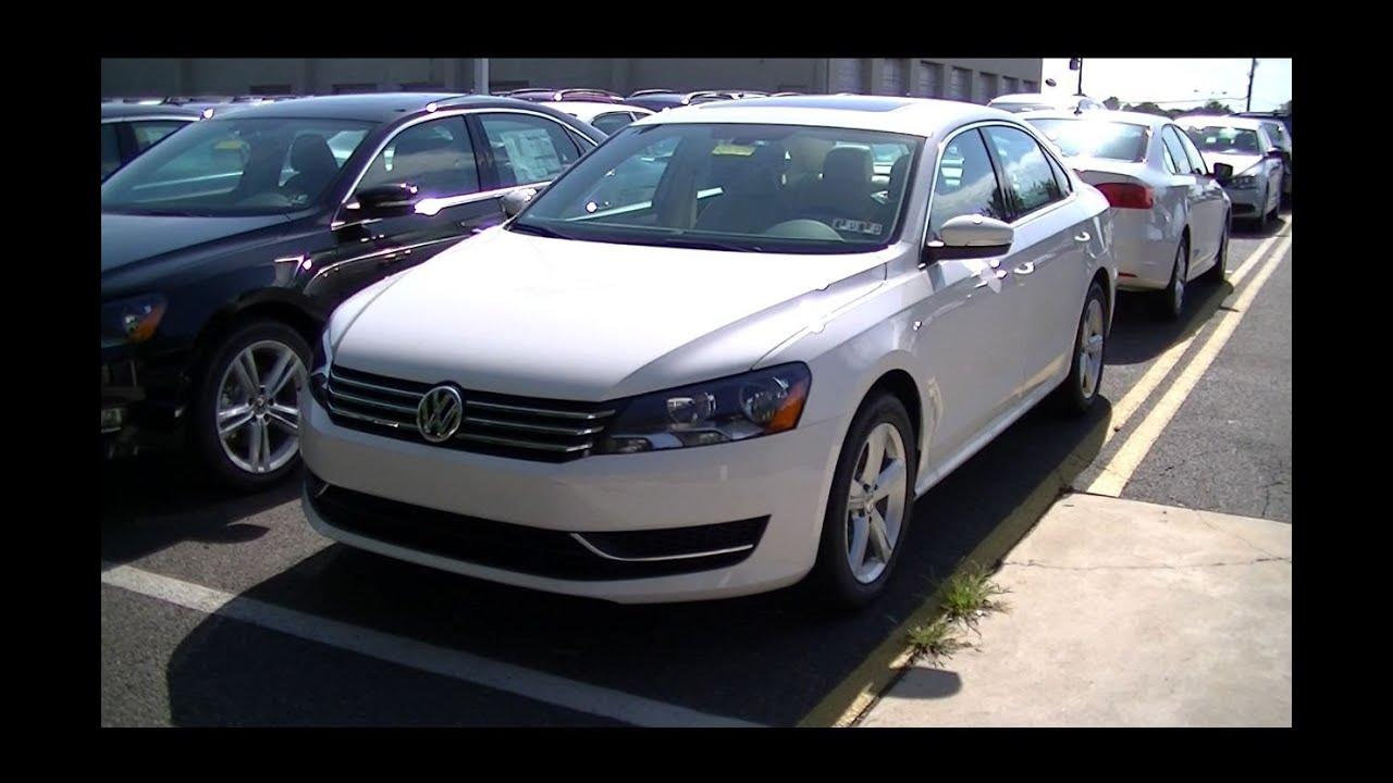 2013 volkswagen passat se youtube. Black Bedroom Furniture Sets. Home Design Ideas