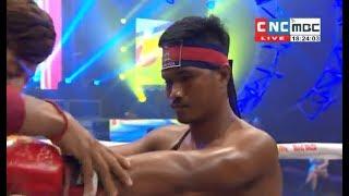 Roeung Saroth vs Liemphet(thai), Khmer Boxing CNC 17 Feb 2018, Kun Khmer vs Muay Thai