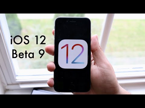 iOS 12 BETA 9 On iPHONE 6! (Review) (Speed Decrease)