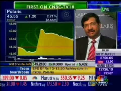 Polaris Software Lab Ltd. Q3 Results - Arun Jain and Arup Gupta on CNBC - Part 2