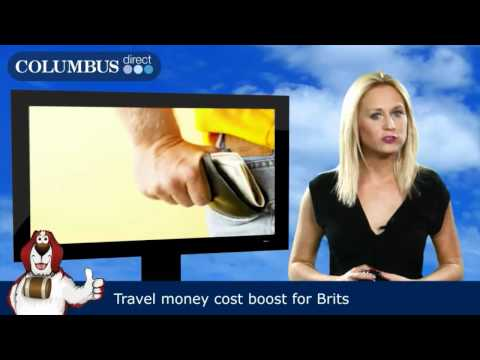Travel money cost boost for Brits