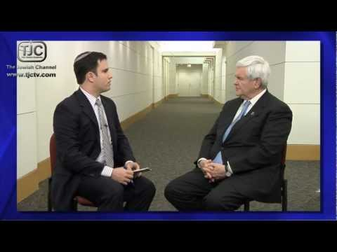 The Jewish Channel Exclusive Interview With Newt Gingrich Excerpt: