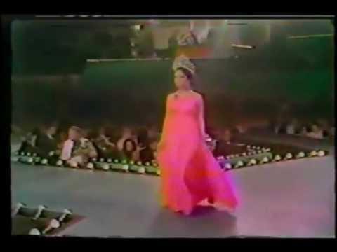 Gloria Diaz ( Philippines ), Miss Universe 1969 - Farewell Walk