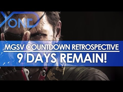 MGSV Countdown Retrospective: 9 Days Remain! - E3 2013 Trailer