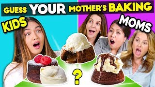 Kids Try Guessing Their Mother's Baking