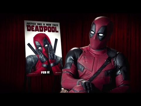 Watch Our Awkward Interview with Deadpool