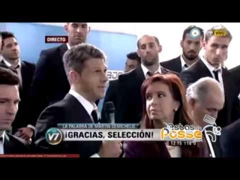 Homenaje a Martín Demichelis de EstasEnPosse.com