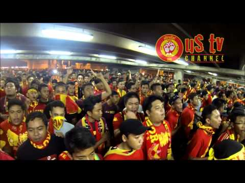 "ultraSel vs JDT : Shah Alam : Entering Stadium - ""Selangor We Love You"""