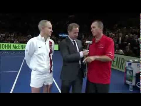 McEnroe Brothes vs Ivan Lendl - Interview
