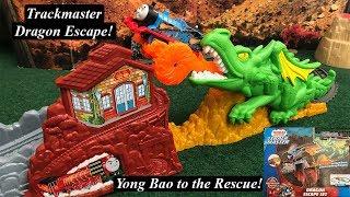 Thomas and Friends Toy Train Set-Trackmaster Dragon Escape Set!