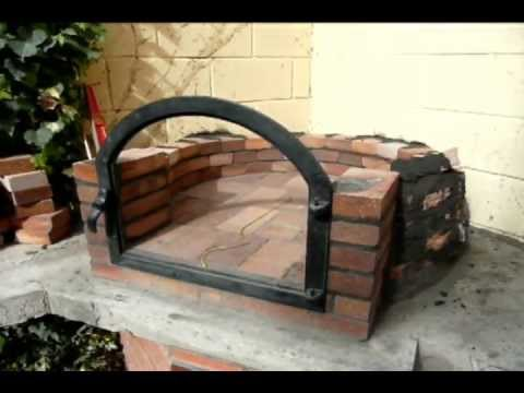 Construcci n horno de le a 3 youtube - Construccion de chimeneas de ladrillo ...