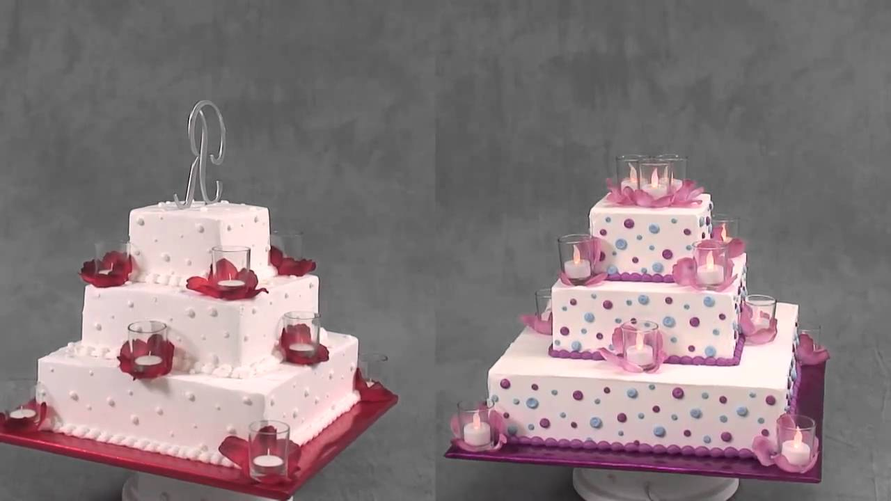 Wedding Cake Pictures Red Wedding Cakes -- Burning ...