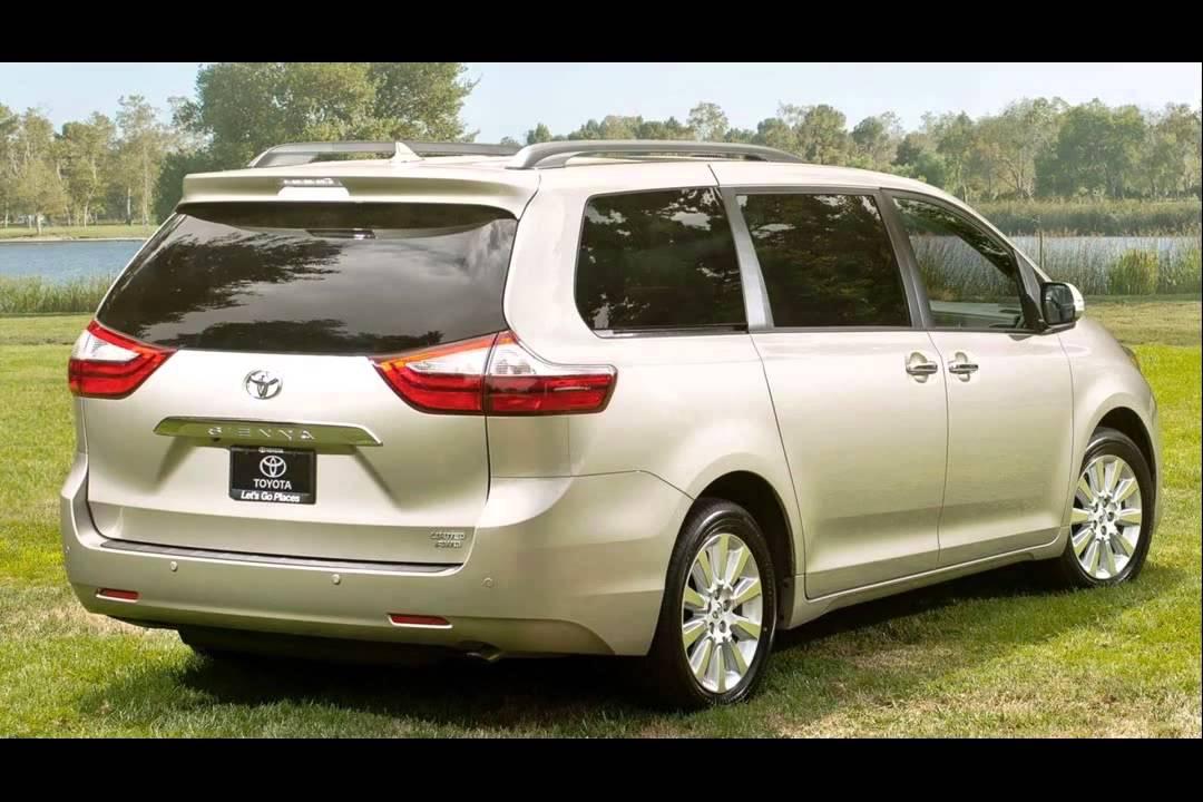 2015 toyota sienna minivan - YouTube