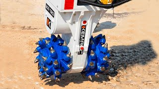9 COOL ATTACHMENTS FOR POWERFUL CONSTRUCTION MACHINES