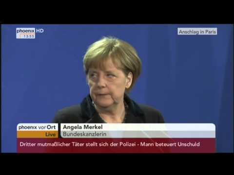 Ukraine-Krise: PK mit Angela Merkel und Arsenij Jazenjuk am 08.01.2015