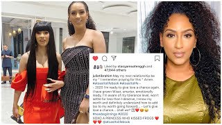 Actress Juliet Ibrahim vows to give LOVE a chance 2020, says she miss being in LOVE