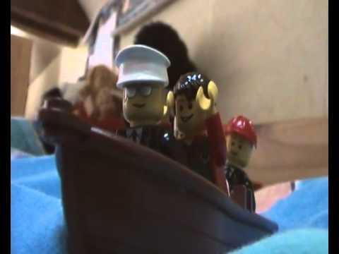Lego Britannic Sinking Lego Britannic Untergang