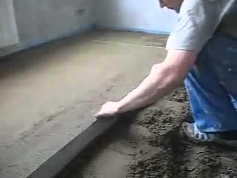 Сухая стяжка своими руками – плюсы и минусы (на примере КНАУФ)