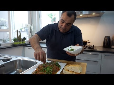 Армянский традиционный тжвжик с телячьей печенью (Рецепт от Жоржа)