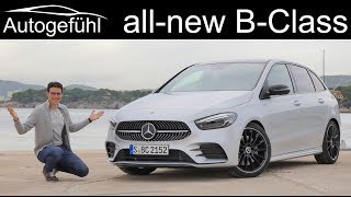 2019 Mercedes B-Class FULL REVIEW all-new BClass B-Klasse AMG-Line - Autogefühl