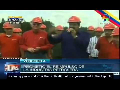 Maduro: Venezuela to have a sovereign management of its oil