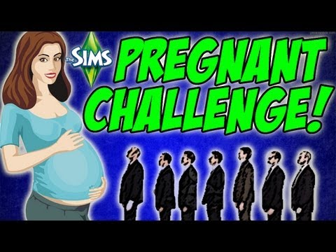 The Sims 3 - Pregnant Challenge- #6 That Walk! video