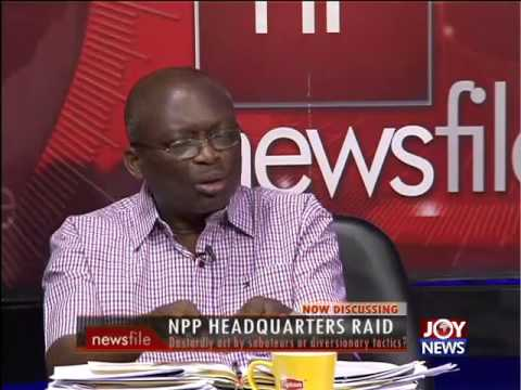 NDC Primaries - Newsfile on Joy News (28-11-15)