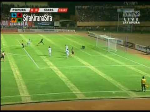 Highlight Persipura VS All Stars ISL 2013 2-0 | 21 September 2013