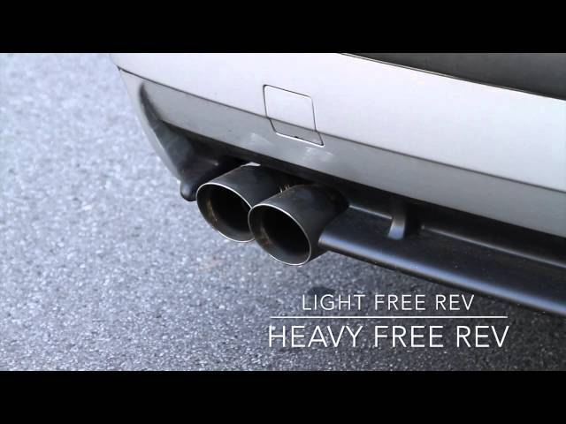 BimmerWorld E36 Cat-Back Exhaust by Magnaflow M3 328i 325i Rev Acceleration