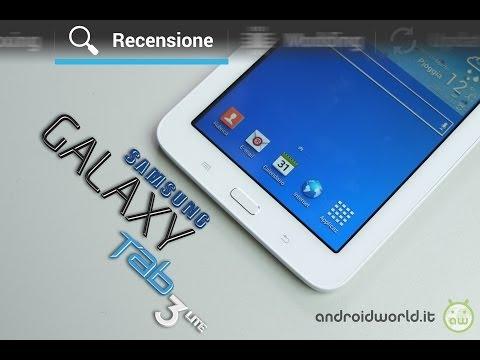 Samsung Galaxy Tab 3 Lite, recensione in italiano