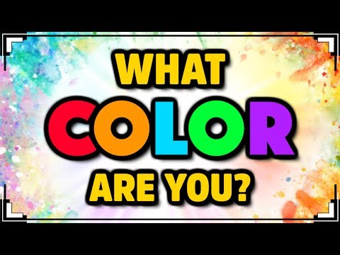 What COLOR Are You? | Color Personality Test