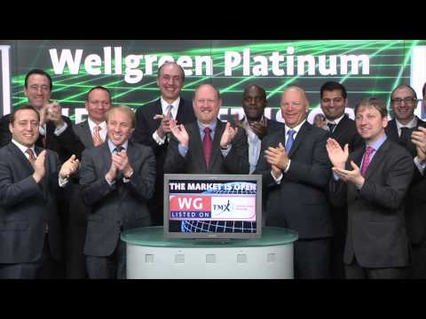 Wellgreen Platinum Ltd. (TSX:WG) opens Toronto Stock Exchange, April 17, 2015