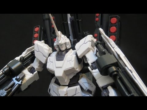 HGUC Full Armor Unicorn Gundam review (3: Parts) Gundam UC Banagher's Gunpla plastic model ガンプラ