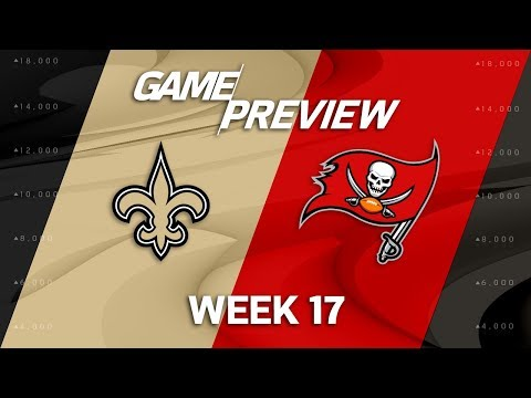 New Orleans Saints vs. Tampa Bay Buccaneers | NFL Week 17 Game Preview | NFL Playbook