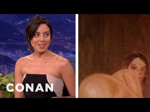 Aubrey Plaza's Very Filthy Housewarming Present - CONAN on TBS