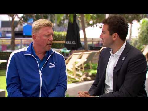 Melbourne 2015 Boris Becker Interview