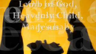 Mariah Carey's  Jesus, Oh what a wonderful child LYRIC video