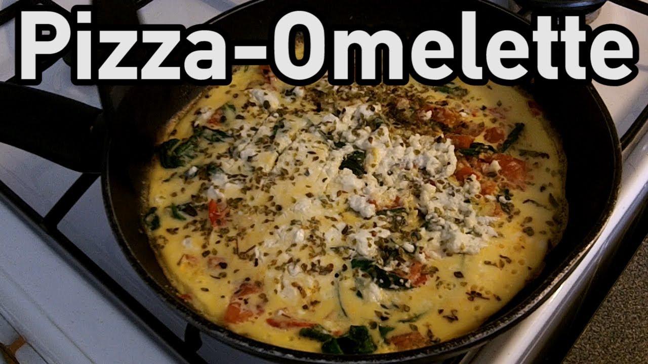 grande pizza omelet pizza omelette au chorizo inspirée d une omelette ...