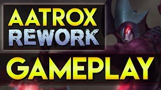 Aatrox Rework Gameplay PBE - Wie gut ist der