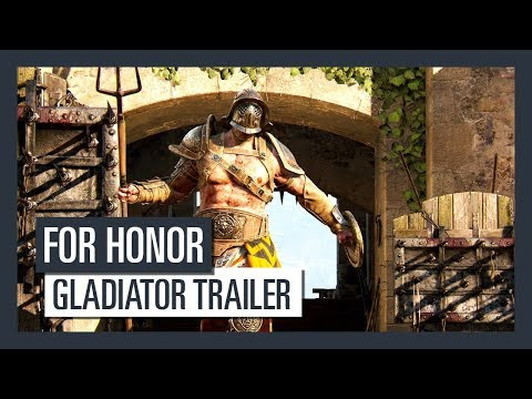 For Honor Grudge and Glory - Gladiator trailer