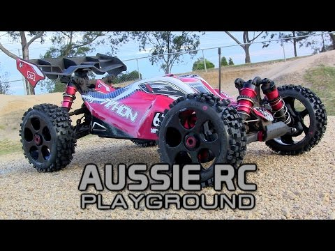ARRMA Typhon First Running Video on 6S with Proline Badlands