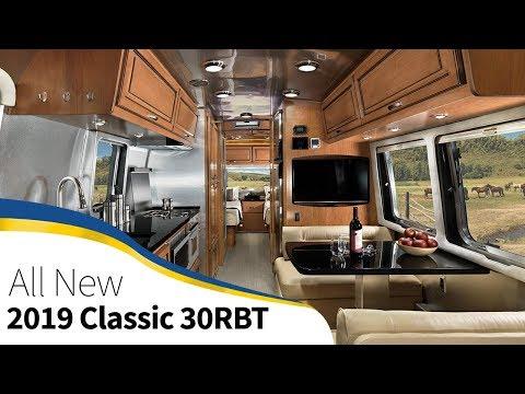 2019 Airstream Classic 30RBT Smart Technology Model Announcement Walk Through