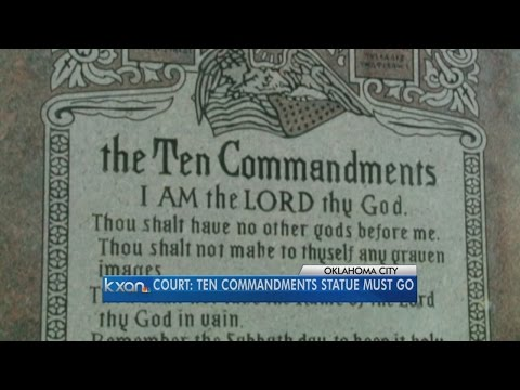 Oklahoma court: Ten Commandments monument must come down