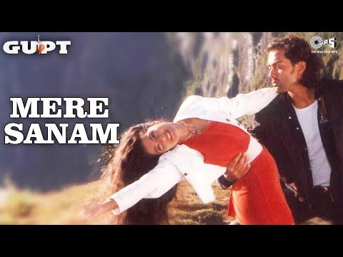 Mere Sanam - Gupt | Bobby Deol & Kajol | Sadhana Sargam & Udit...